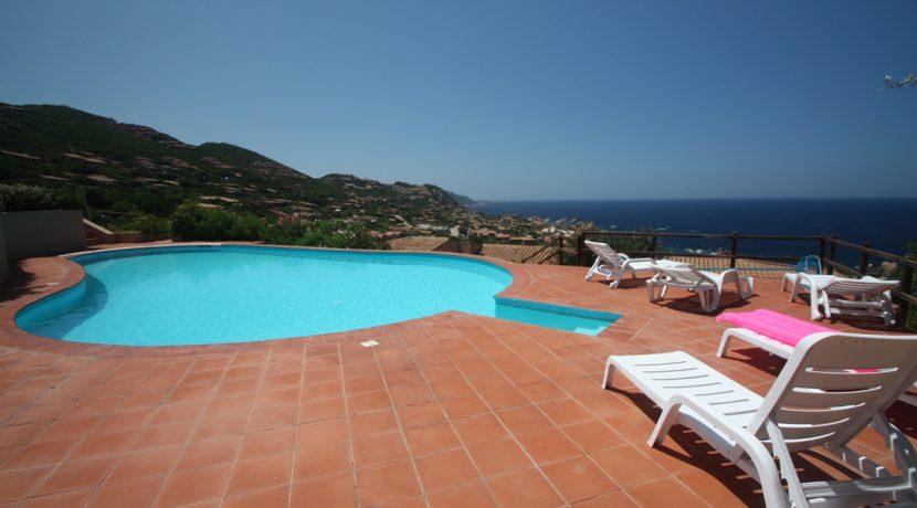 Villino Miramar con panorama stupendo sul mare