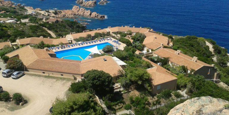 Villini K1 con vista mare e piscina con acqua salata