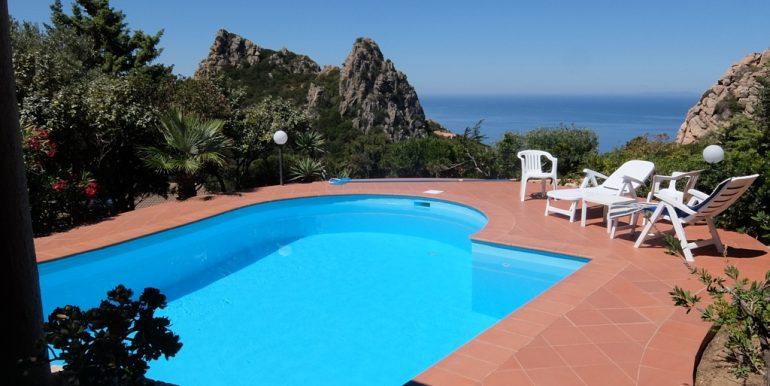 Stupenda vista e piscina privata