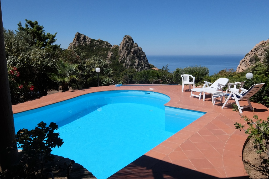 Villa Germana con piscina privata e magnifica vista mare