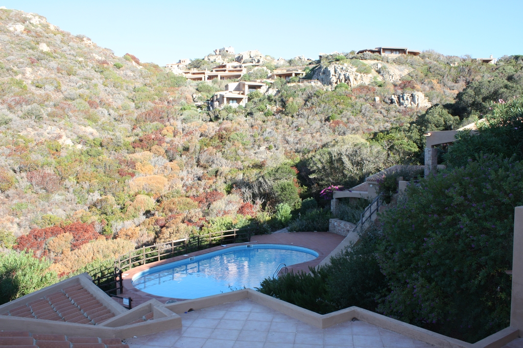 piscina condivisa complesso