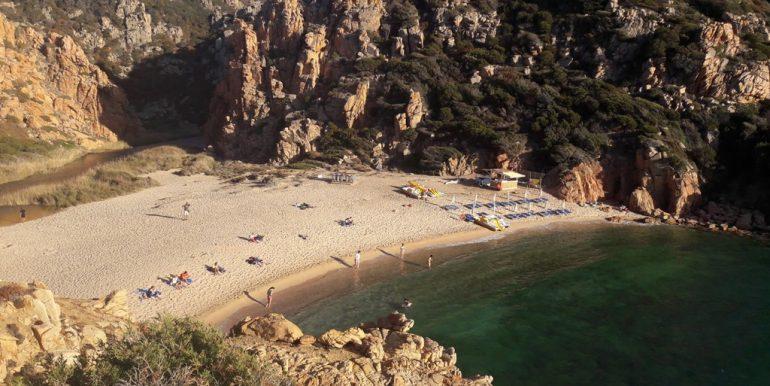 Spiaggia di Li Cossi a Costa Paradiso