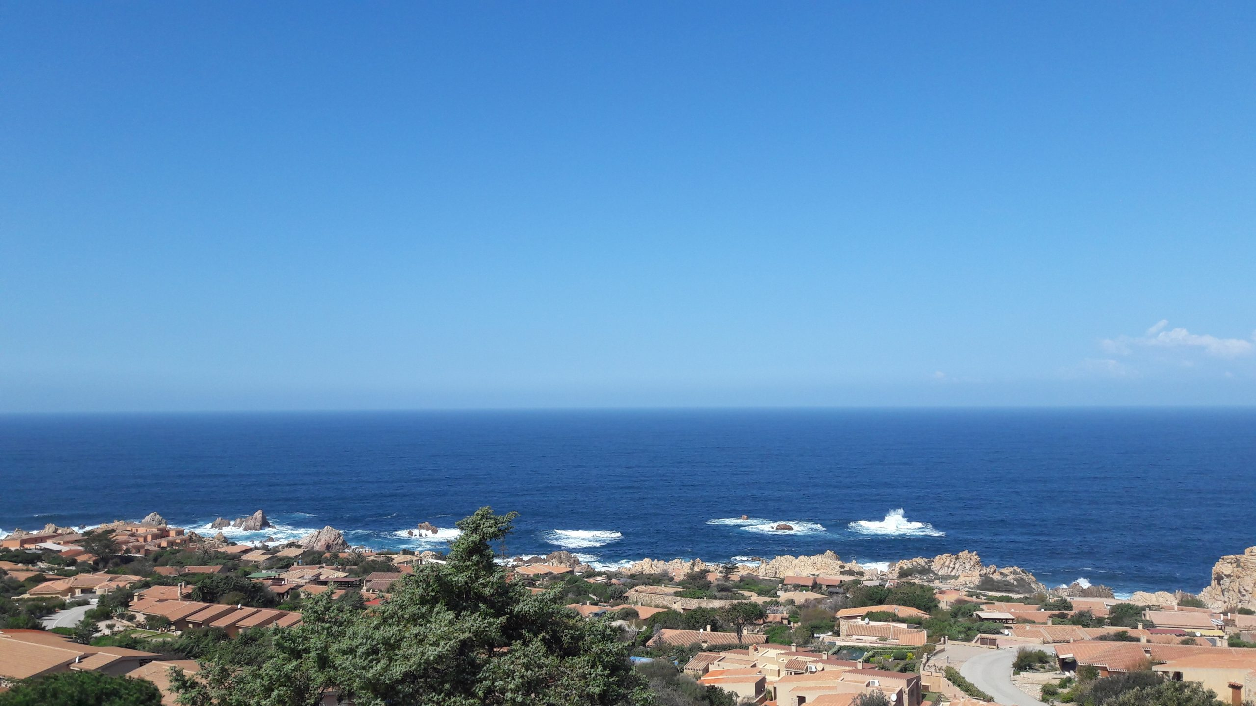Villino Mediterraneo con veranda vista mare