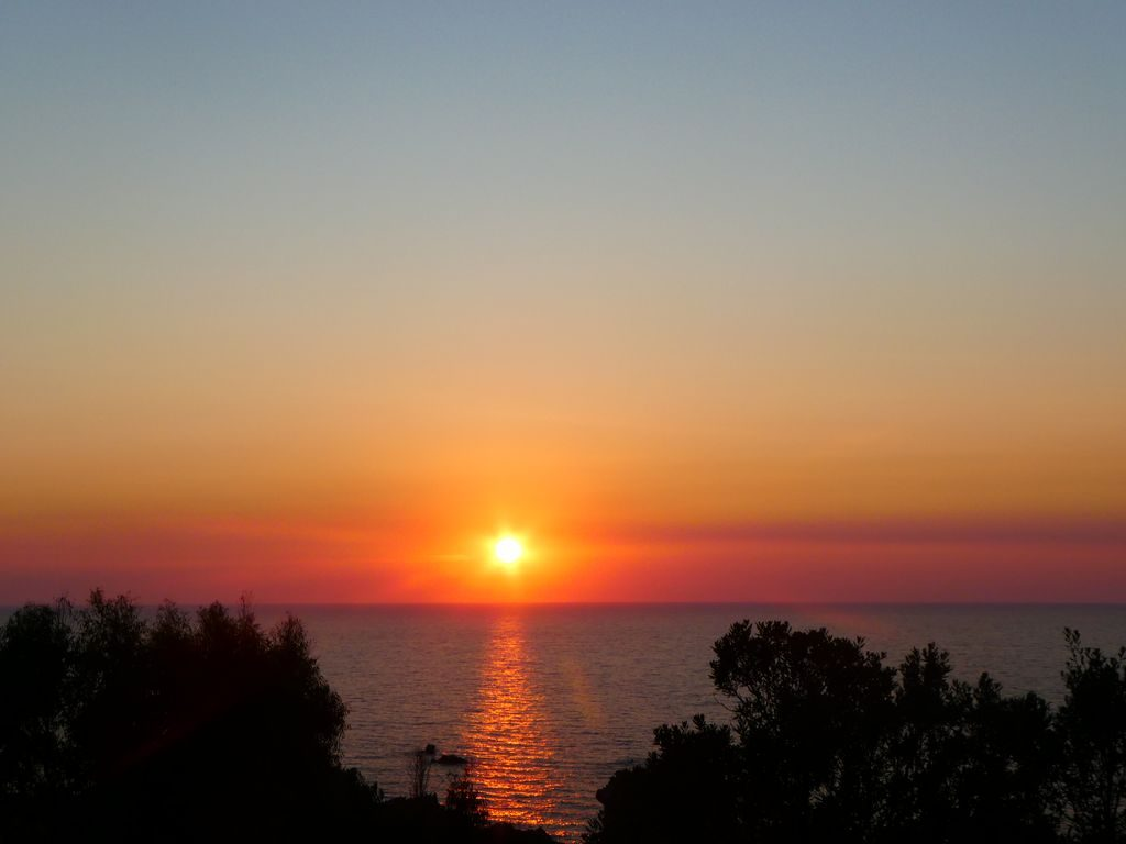tramonto a costa paradiso sardegna