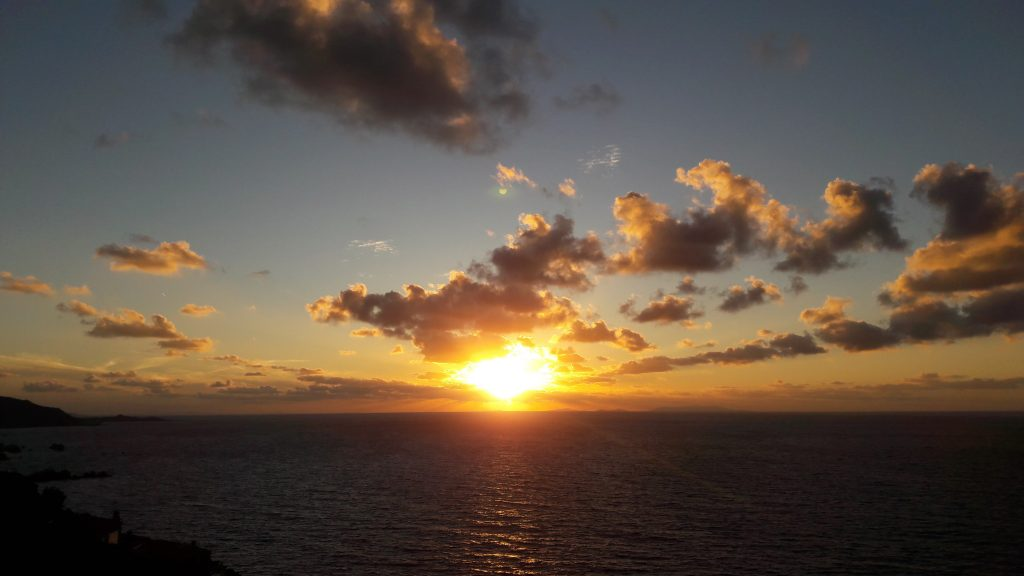 tramonto li cossi costa paradiso