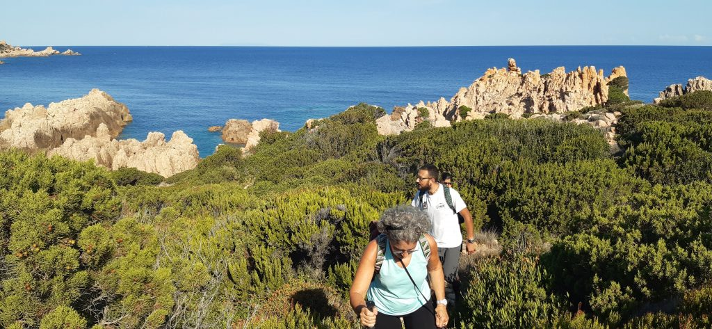 trekking da costa paradiso a tinnari